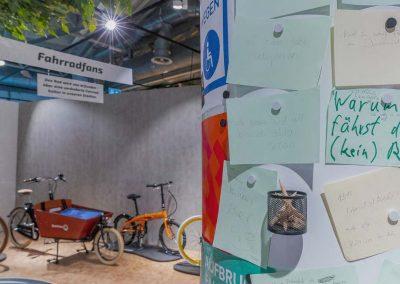 Mitmachstation Fahrrad, Stop and Go, DASA, Dortmund