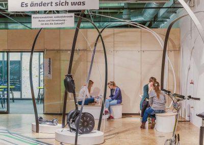 Interaktive Station mit Apps, DASA, Dortmund