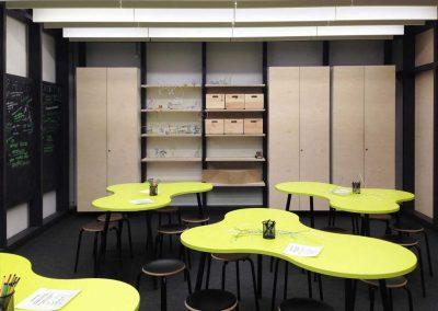Workshopraum für Schulklassen, DASA, Dortmund